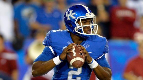 Kentucky quarterback Jalen Whitlow