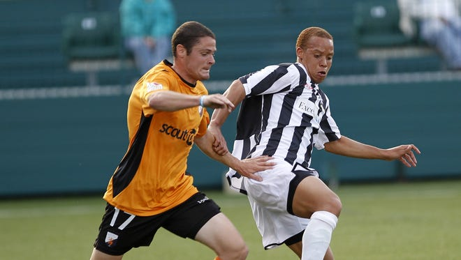 JC Banks is one of just five players returning from last season's Rochester Rhinos squad.