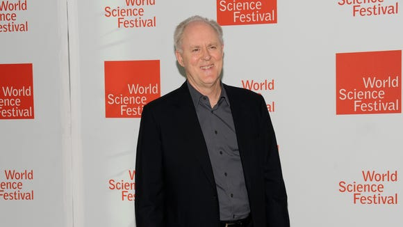 Actor John Lithgow attends the 2010 World Science Festival opening night gala performance at Alice Tully Hall on Wednesday in New York.