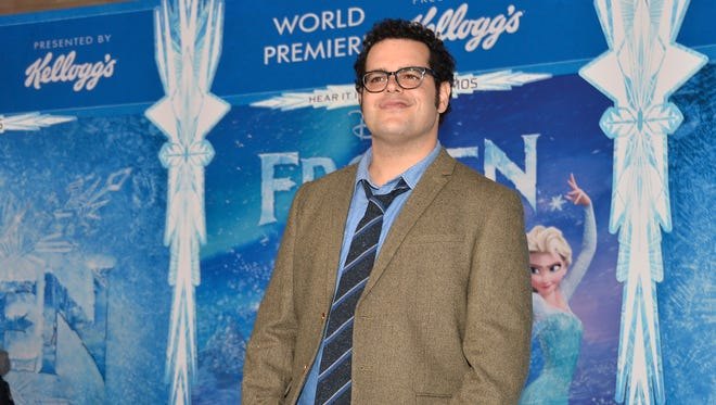 Josh Gad attends the premiere of 'Frozen'at the El Capitan Theatre on Nov. 19, 2013 in Hollywood.