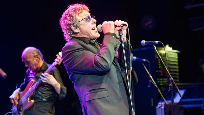Roger Daltrey, performing Feb. 25 in London, was at Toyota Grand Prix of Long Beach Sunday to promote Teen Cancer Awareness, a charity he started with The Who bandmate Pete Townshend.