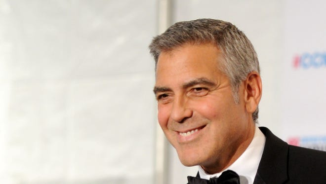 George Clooney in 2012.