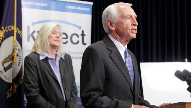 Former Kentucky governor Steve Beshear, D, led that state's expansion of Medicaid.