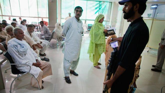 Dr. Mehdi Ali Qamar planned to treat patients at the Ahmadiyya Tahir Heart Institute, shown here, before gunmen killed him in Lahore, Pakistan.