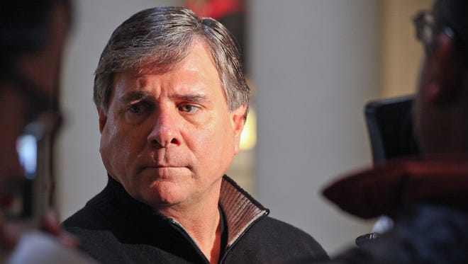 Director of Athletics for the University of Louisville Tom Jurich.