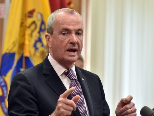 NJ Governor Phil Murphy.