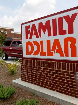 File photo taken in Aug. 2014 shows the Family Dollar store in Ridgeland, Miss.