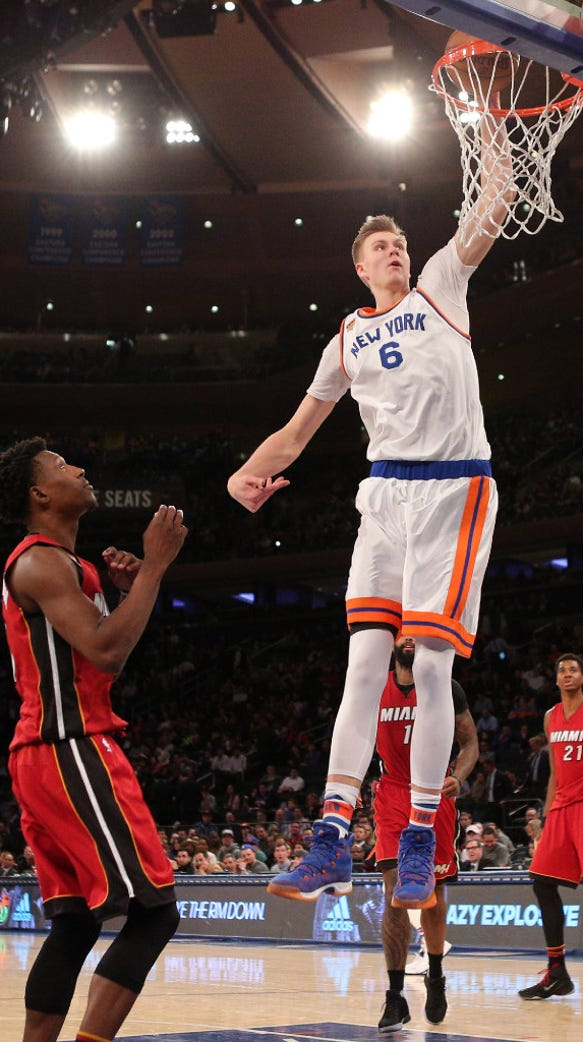 Who will be the Kristaps Porzingis of the eKnicks NBA