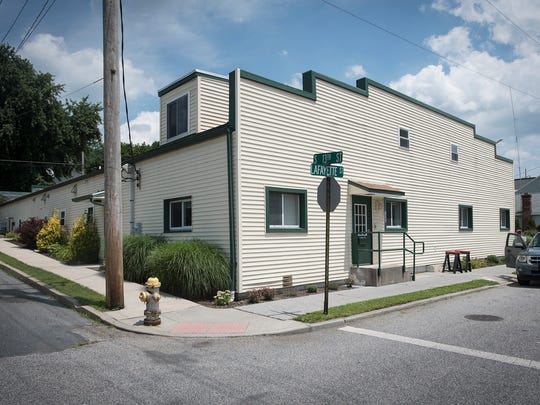 Jubilee Ministries homeless shelter located at 1243 Lafayette St.