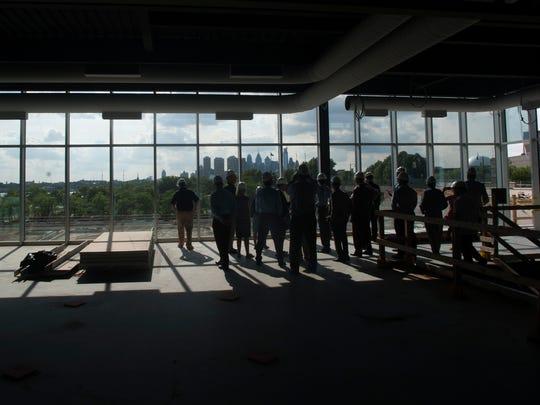 The new Philadelphia 76ers training facility in Camden