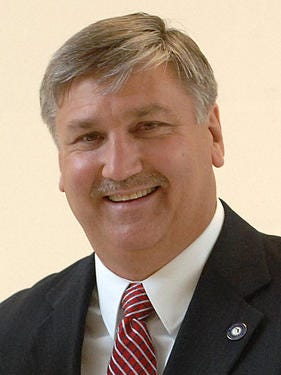Santa Rosa County School District Superintendent Tim Wyrosdick