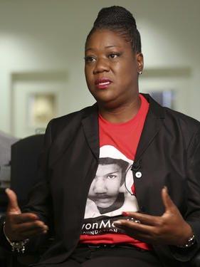 This Feb. 25, 2015 file photo shows Sybrina Fulton, mother of Trayvon Martin, in Miami.
