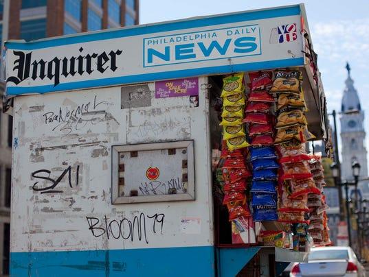AP Philadelphia Newspapers