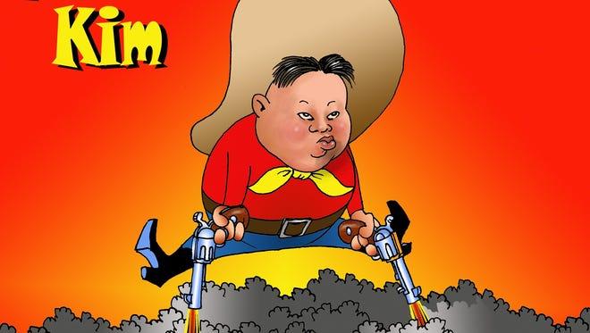Roger Harvell Cartoon for April 18, 2017