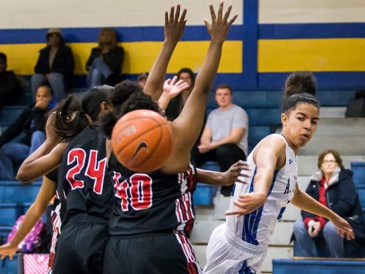 Girl's Basketball: A.I. duPont vs William Penn