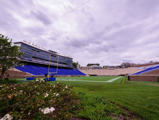 Wallace Wade Stadium, home of the Duke Blue Devils