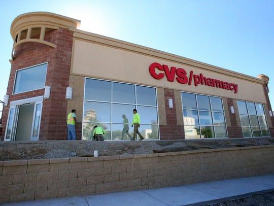 The CVS Pharmacy drugstore at 2525 N. Mesa St., near