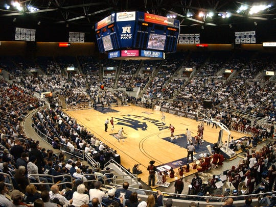 The Wolf Pack has to regularly pack Lawlor Events Center