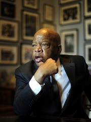 Georgia Congressman John Lewis in his office Tuesday Jan. 22, 2013, in Washington, D.C.