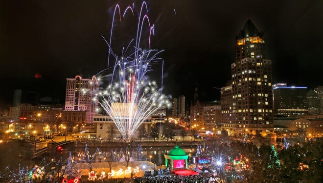 The Milwaukee Holiday Lights festival will go on this year but without the fireworks and fanfare of the past.