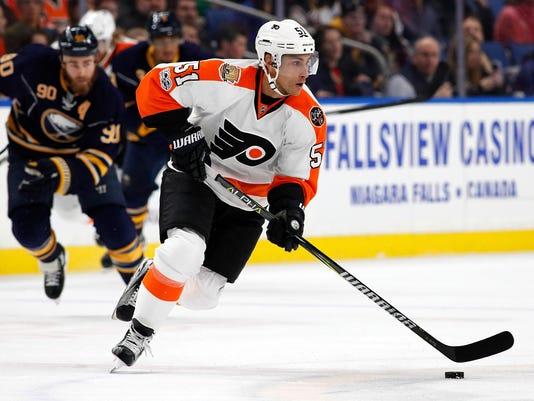 NHL: Philadelphia Flyers at Buffalo Sabres