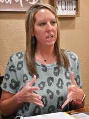 Chelsea Putney, wife of Wichita Falls Police Officer