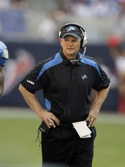 Then-Lions coach Rod Marinelli was stubborn and winless