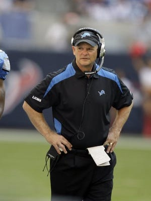 Then-Lions coach Rod Marinelli was stubborn and winless in 2008.