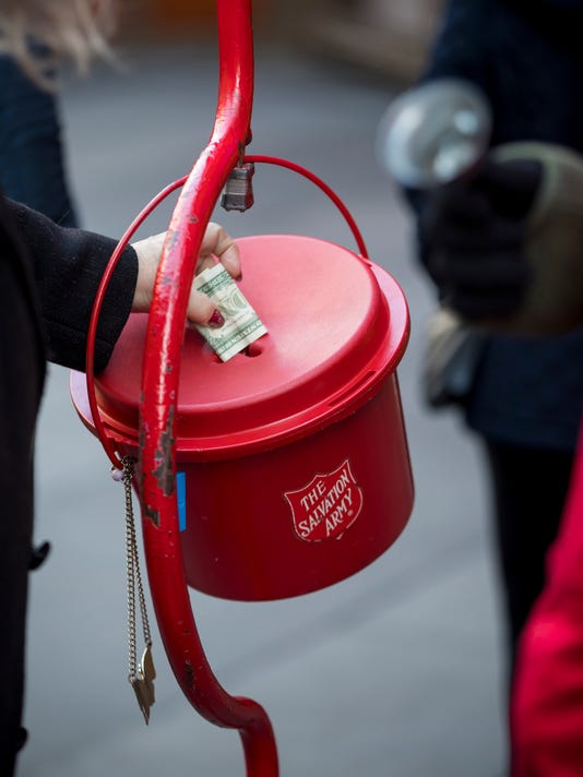 Salvation Army ponders cashless kettle as digital donations increase