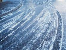 Ice wreaks havoc on county roads