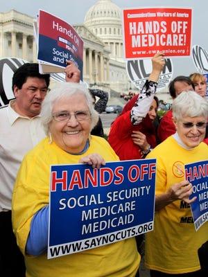 Demonstration in Washington in 2011.