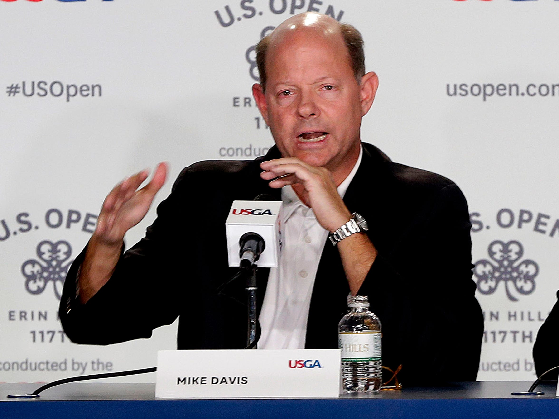 """""""For everybody here, they're not only the owners, the custodians, the keepers of this, but they have put their heart and soul into it,"""" USGA executive director Mike Davis said at a recent media day for the U.S. Open at Erin Hills."""