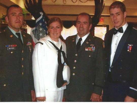 (From left) Andrew, Carrie, Mike and Dusten Weathers.