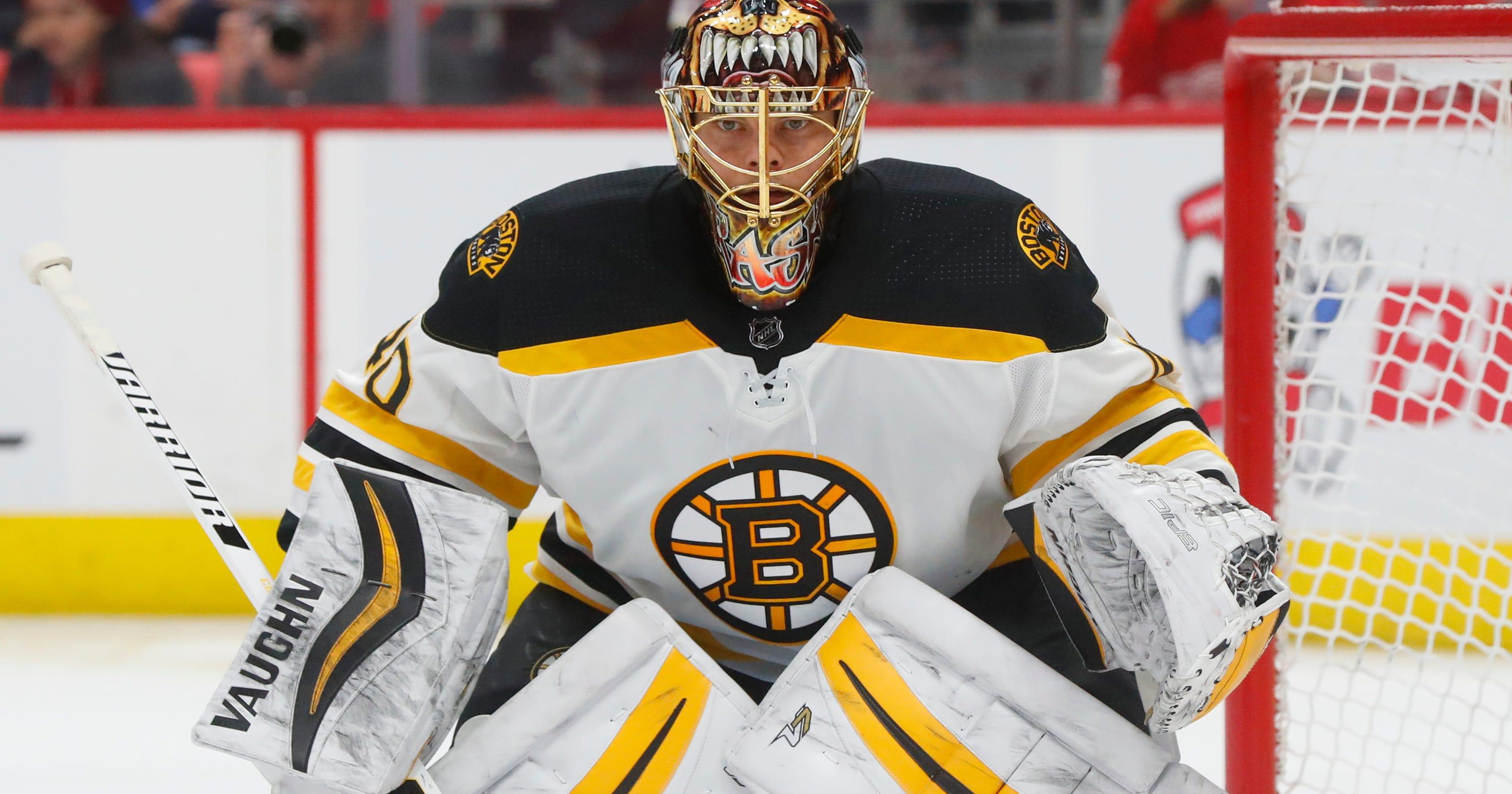 Tuukka Rask  Boston Bruins goalie back at practice after 3-day leave 09df3a180