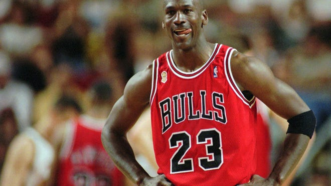 "ESPN's ""The Last Dance"" chronicles the 1997-98 NBA championship won by Michael Jordan (pictured) and the rest of the Chicago Bulls, who capped a run of six titles in eight seasons."