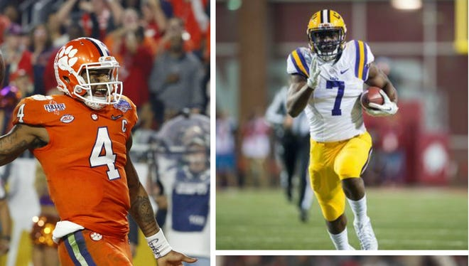 Clemson QB Deshaun Watson, LSU RB Leonard Fournette and Washington WR John Ross are among the top players at their positions in this year's NFL draft.