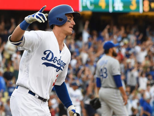 July 8: Cody Bellinger slugs a solo home run for his