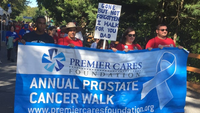 The Premier Cares Foundation held its seventh annual Prostate Cancer Walk at Walkway Over the Hudson State Park on Saturday