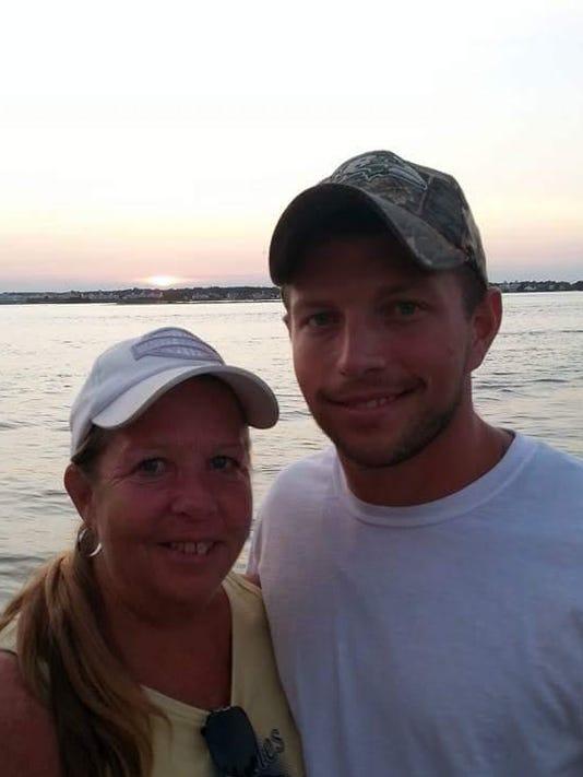 Kyle Brittingham and mom