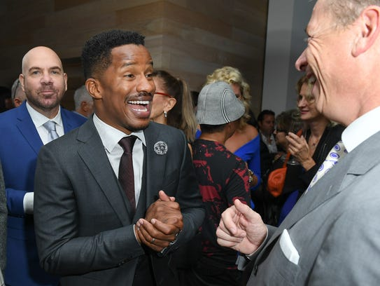 Director/star Nate Parker attends 'The Birth of a Nation'