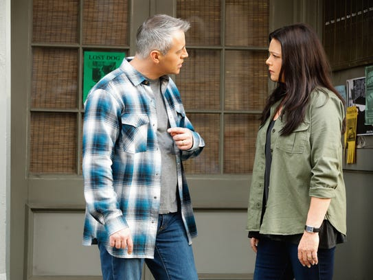 Matt LeBlanc and play a married couple in CBS comedy