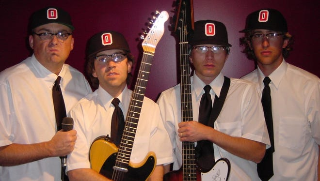 Dead Schembechlers (left to right) Bo Biafra, Bo Thunders, Bo Vicious, Bo Scabies.