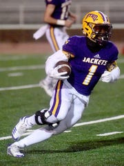 Byrd's Jalin Thomas scored two touchdowns against Rummel.