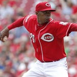 Raisel Iglesias has been on the disabled list since June 5 with a strained left oblique.