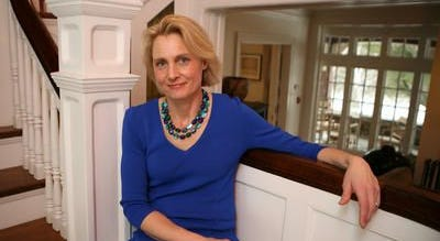 Jenny du Pont of Tarrytown, president and CEO of the Garden Conservancy, at its Garrison offices.