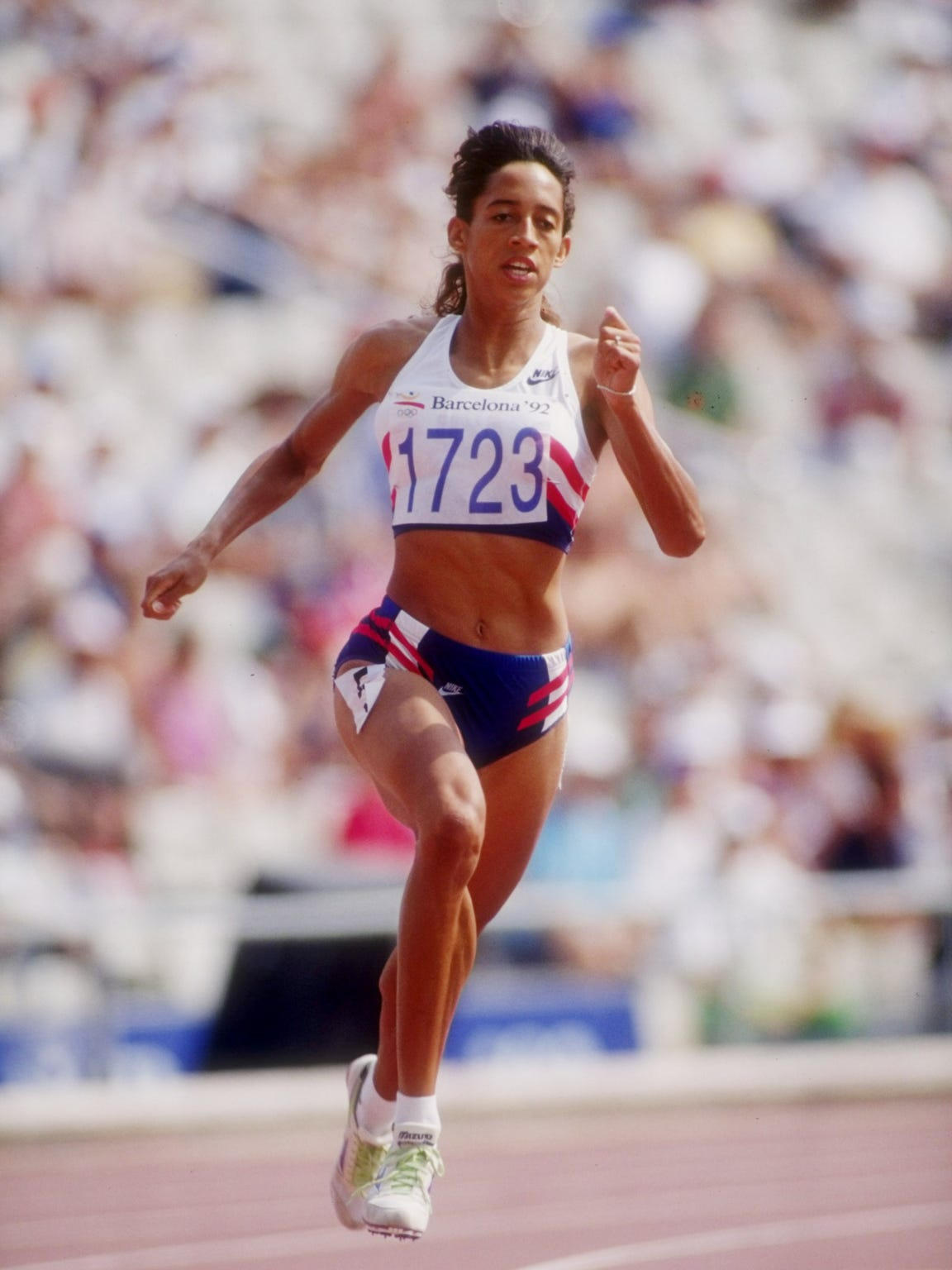 Natasha Brown was an Olympic silver medalist in the
