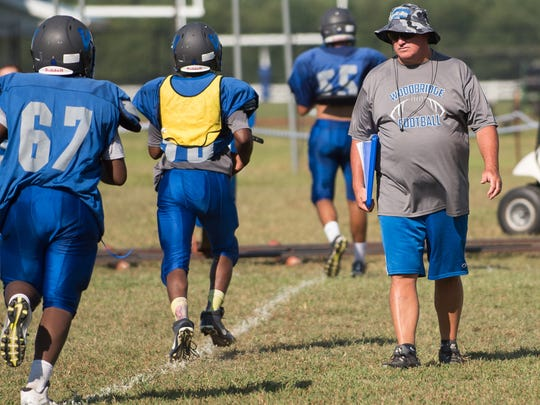 Woodbridge football coach Ed Manlove knows the Blue Raiders could have a special season. Woodbridge starts the year ranked No. 1 in Division II by The News Journal