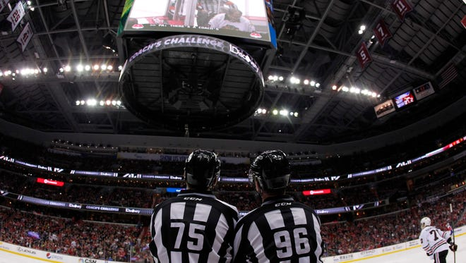 NHL general managers voted to keep the coaches challenges unchanged for the future.