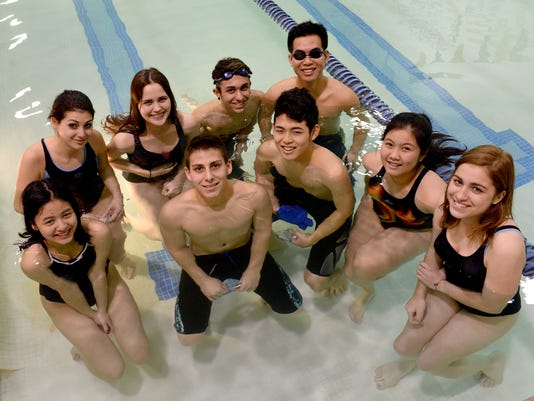 -Ovid Elsie swimmers.FIRST CHOICE