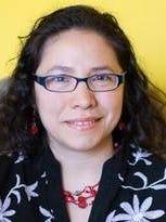 Mariel Fiori, co-founder and managing editor of La Voz speaks Oct. 9 in Poughkeepsie.